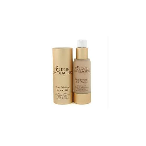 L'Elixir Des Glaciers Teint Precieux Poly Active Cellular Foundation - #Amber Beige in Florence - 30ml/1oz by Valmont