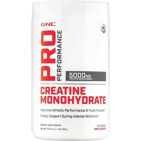 GNC Pro Performance Creatine Monohydrate 100 (Pro Performance Amp Amplified Creatine 189 Reviews)