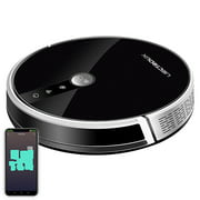 LIECTROUX C30B Robot Vacuum Cleaner, Smart Mapping, with Memory, WiFi App & Voice Control, 4000Pa Strong Suction, Dry & Wet Mopping, Suit for Pet Hair, Home Floor & Carpet Cleaning, Disinfection