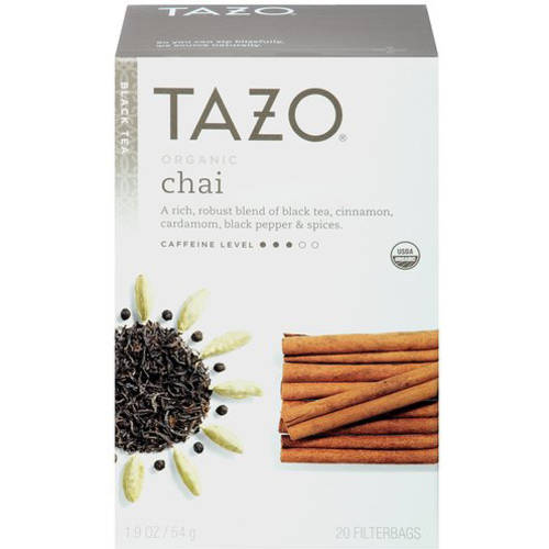 Tazo Organic Chai Black Tea, 20 count, 1.9 oz
