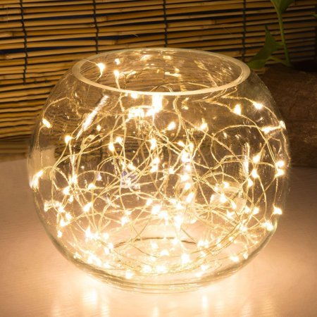 Amazingwoo 8 Pack Led String Lights Copper Wire Battery Operated Image 1 Of 7
