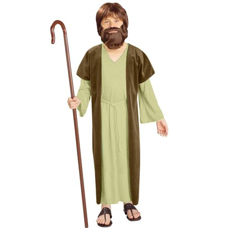 Homemade Jesus Costume (Jesus Child Costume - Large)