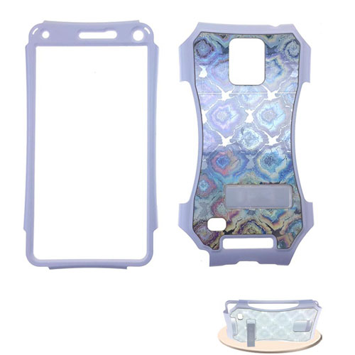 Kicker Series Snap-On Protector Case for Samsung Galaxy Note 4 (Fabric Design)