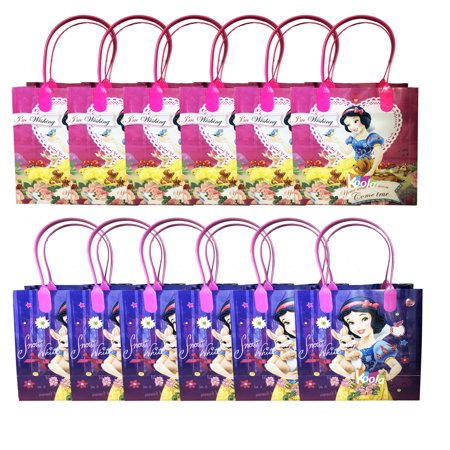 Snow White Birthday - Disney Snow White Princess Birthday Party Loot Bags Birthday Goody Fun Gift Bag 12pack