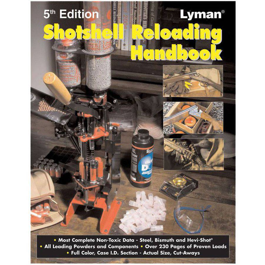 Lyman 9827111 Shotshell Reloading Manual, 5th Edition