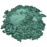 AQUARIUS / GREEN MICA COLORANT PIGMENT POWDER COSMETIC GRADE EYESHADOW 1 OZ