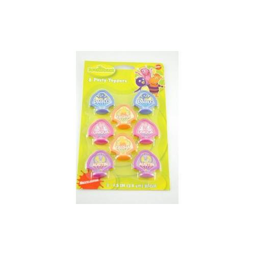 "Party Toppers 1.5"" 8 Pack- Backyardigans (Pack of 336)"