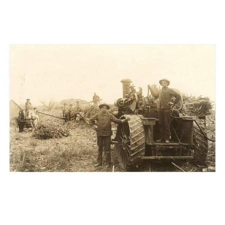 Arb Equipment (Early Farm Equipment Print Wall Art )
