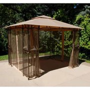 Garden Winds Replacement Canopy Top for Curved Corner Panel Gazebo