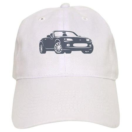 Cafepress   Nc 1 Gray Miata   Printed Adjustable Baseball Cap