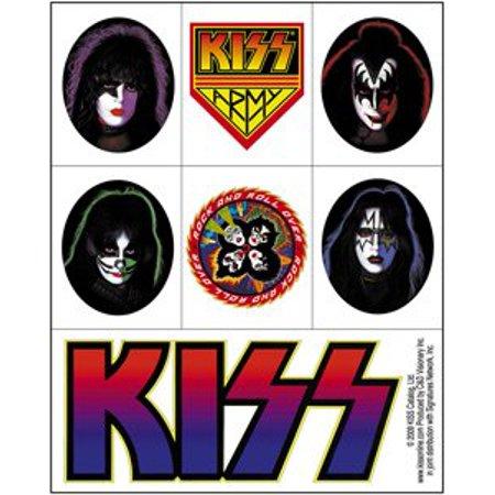 Stickers Dice - Kiss - Assorted - Die Cut Vinyl Sticker Decal