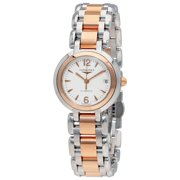 Longines PrimaLuna White Dial Steel and 18K Rose Gold Ladies Watch L8.111.5.16.6
