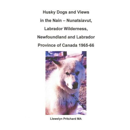 Husky Dogs and Views in the Nain: Nunatsiavut, Labrador Wilderness, Newfoundland and Labrador Province of Canada 1965-66 - eBook
