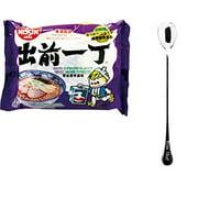 NineChef Bundle - NISSIN Demae Ramen Noodle with Soup Base (Shoyu Tonkotsu Pork Flavor 20 Pack) + 1 NineChef ChopStick