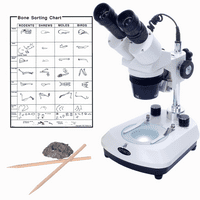 Omano OM13L 10X / 30X Stereo Microscope Gift Package