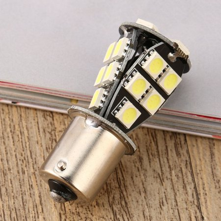 1156 BA15S SMD 5050 Amber /White CANBUS OBC No Error Car LED Light Bulb - image 5 de 8