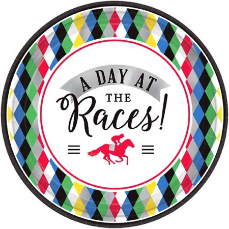 Kentucky Derby 'Derby Day' Small Paper Plates (8ct)