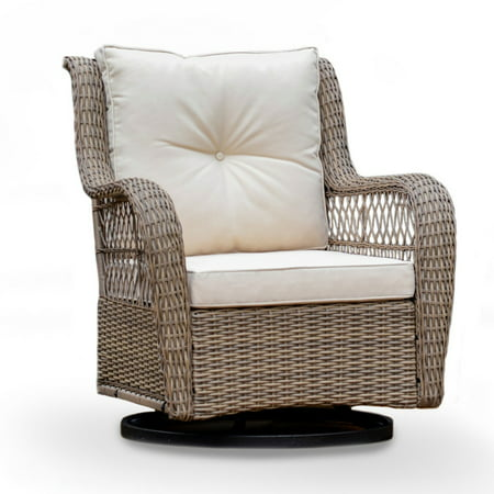 Tortuga Outdoor Rio Vista Swivel Glider Chair - Beige