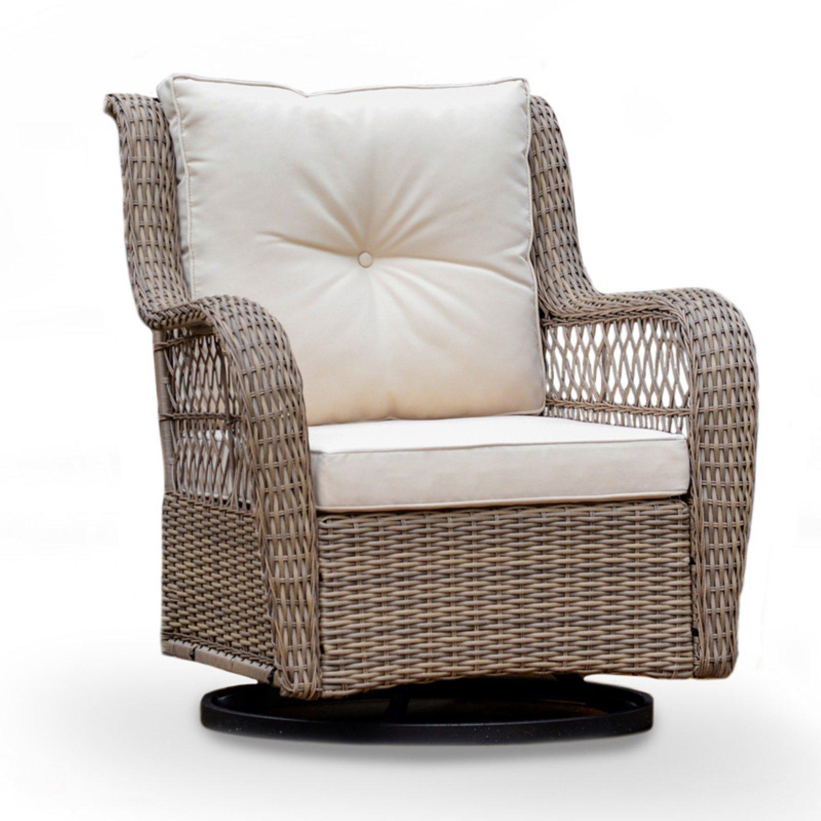 Tortuga Outdoor Rio Vista Swivel Glider Chair - Beige