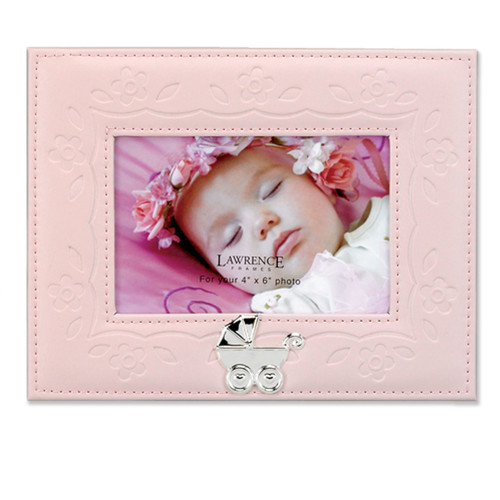 Lawrence Frames Faux Leather Picture Frame