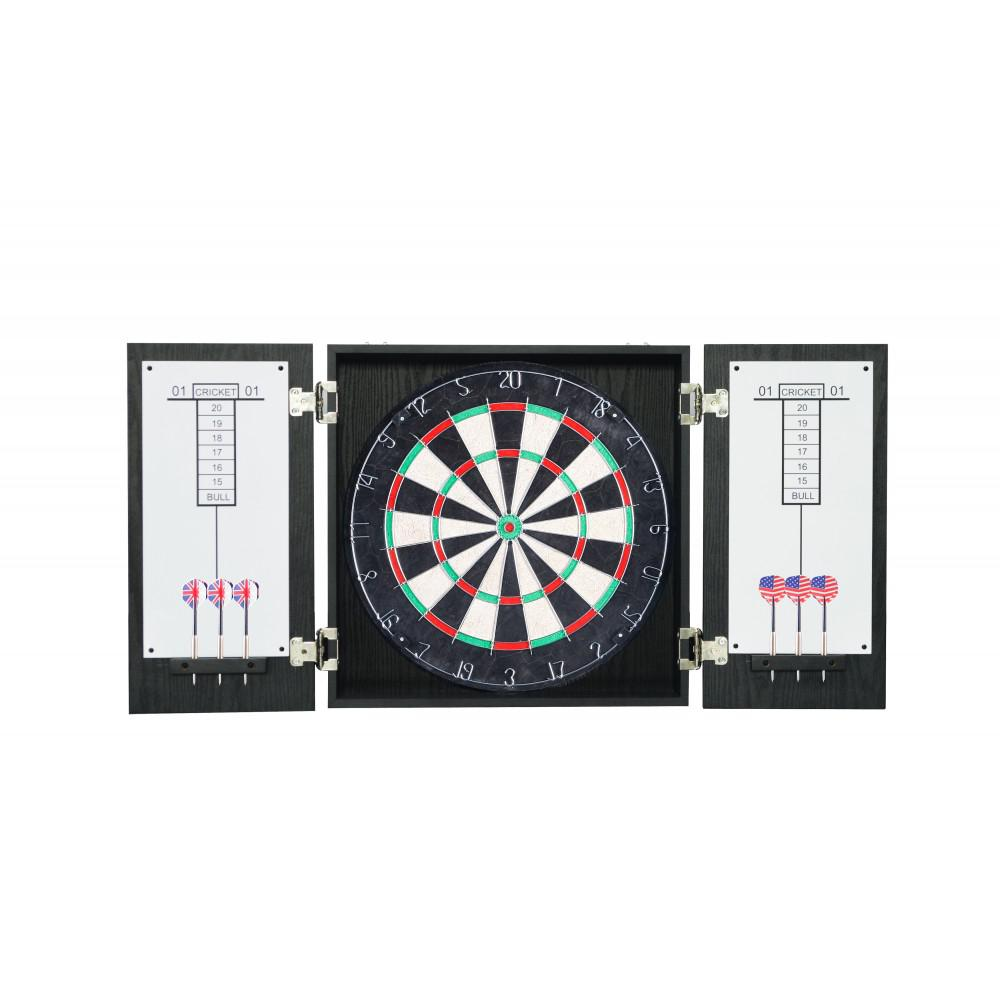 BlueWave Products DARTBOARDS NG1044 Winchester Dart Cabinet Set