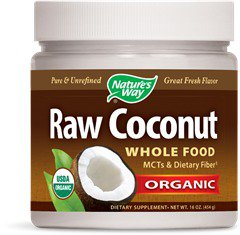 Raw Coconut Nature's Way 16 oz Oil