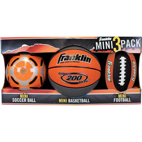 Franklin Sports Mini Balls, 3pk (availab