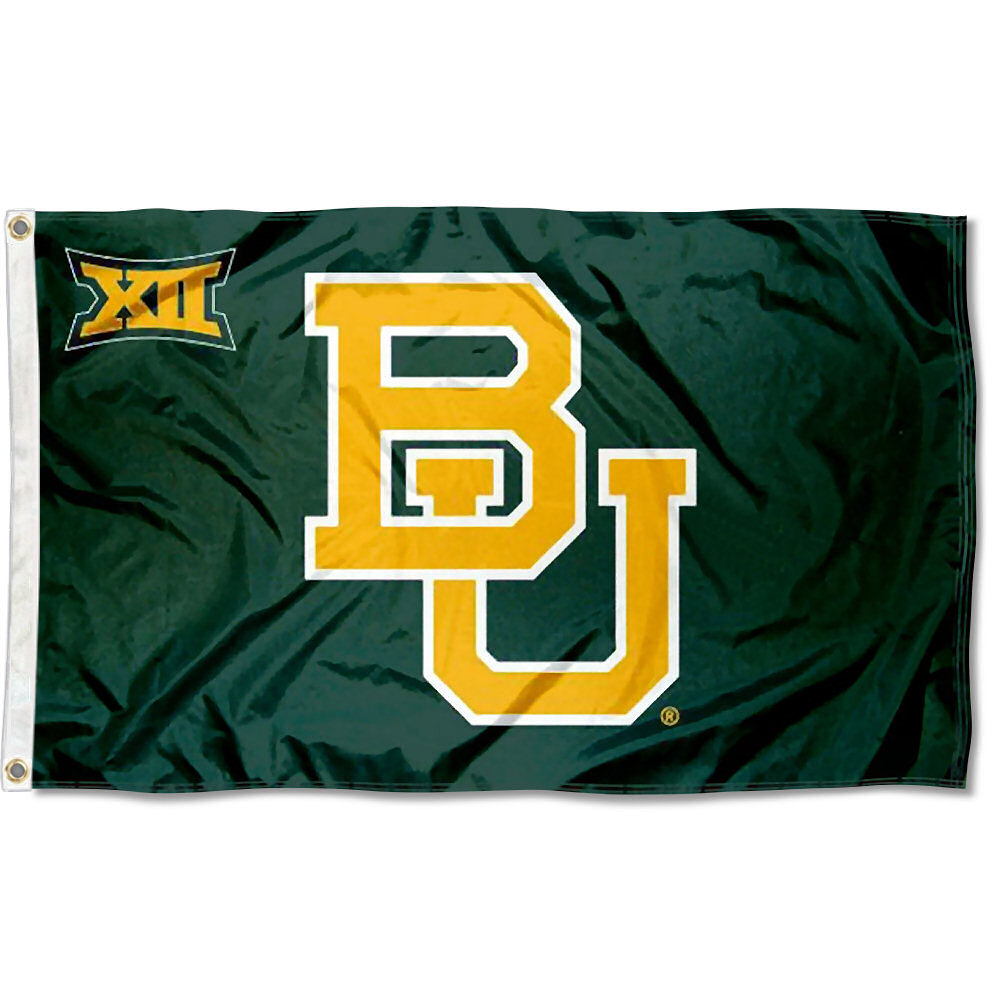 Baylor Bears Big 12 3' x 5' Pole Flag