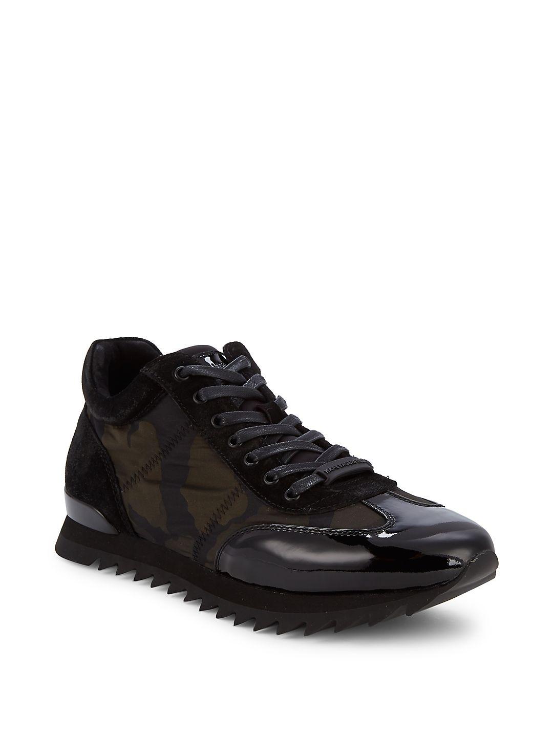Camo Platform Sneakers