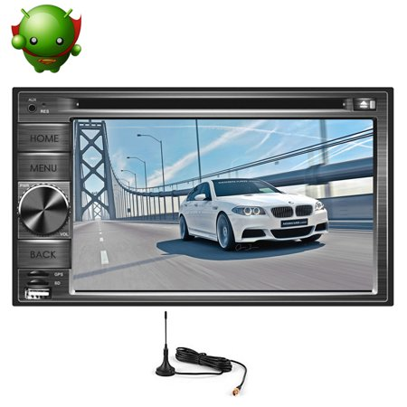 Gps Map Antenna Android 5 1 Capacitive Touchscreen Radio Receiver Sd Car Stereo Bluetooth Video Audio Car Dvd Player 2 Din Usb Autoradio Fm Am In Dash Head Unit Pc System 7Inch Eincar Logo Remote Con