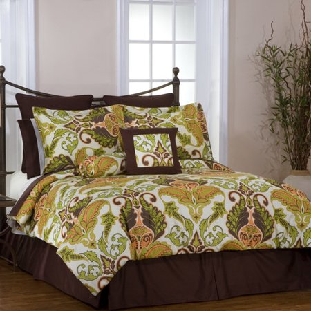 Pointehaven Hannah 8 Piece Reversible Bed In A Bag Set
