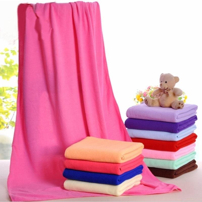70x140cm Large Microfiber Quick-Drying Towel Beach Swim Gym Shower Bath Towel