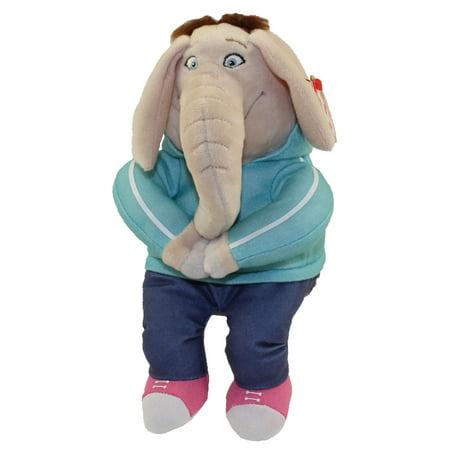 TY Beanie Baby - MEENA the Elephant (Sing) (Elephant Ty Beanie Baby)