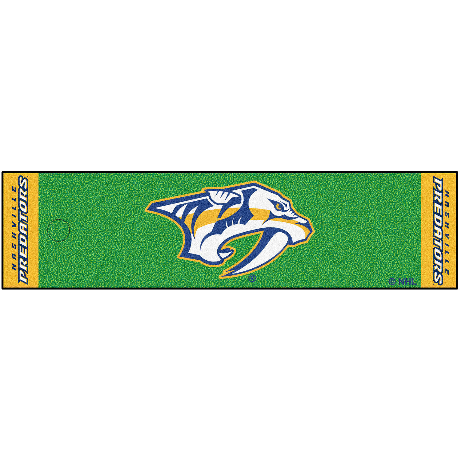 FanMats NHL Nashville Predators Putting Green Mat