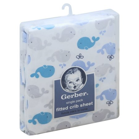 Gerber Baby Boy 100% Cotton Fitted Standard Crib