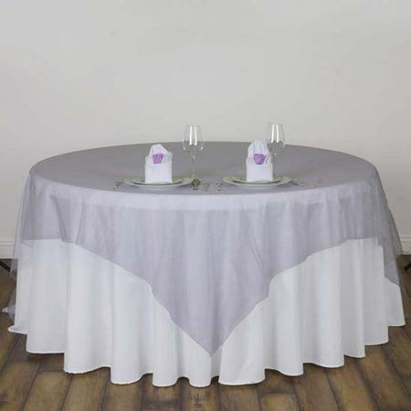 Efavormart Organza Table Overlay 90