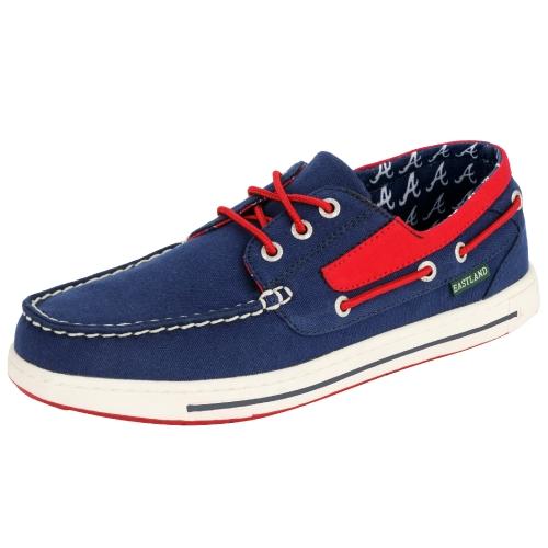 Atlanta Braves MLB Eastland Adventure Shoes Blue by Eastland Shoe