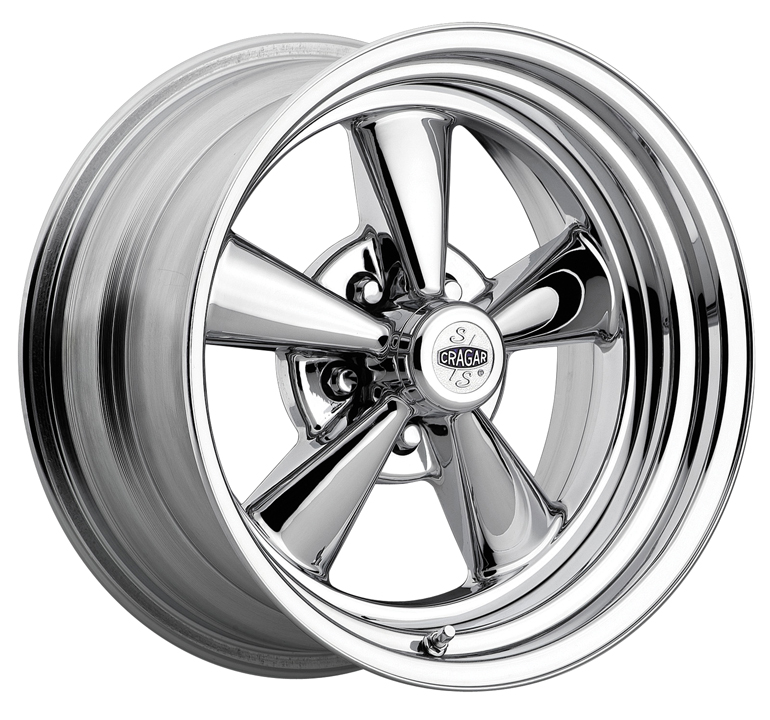 S Super Sport Wheel Rim 15x8 Chrome 2 Piece