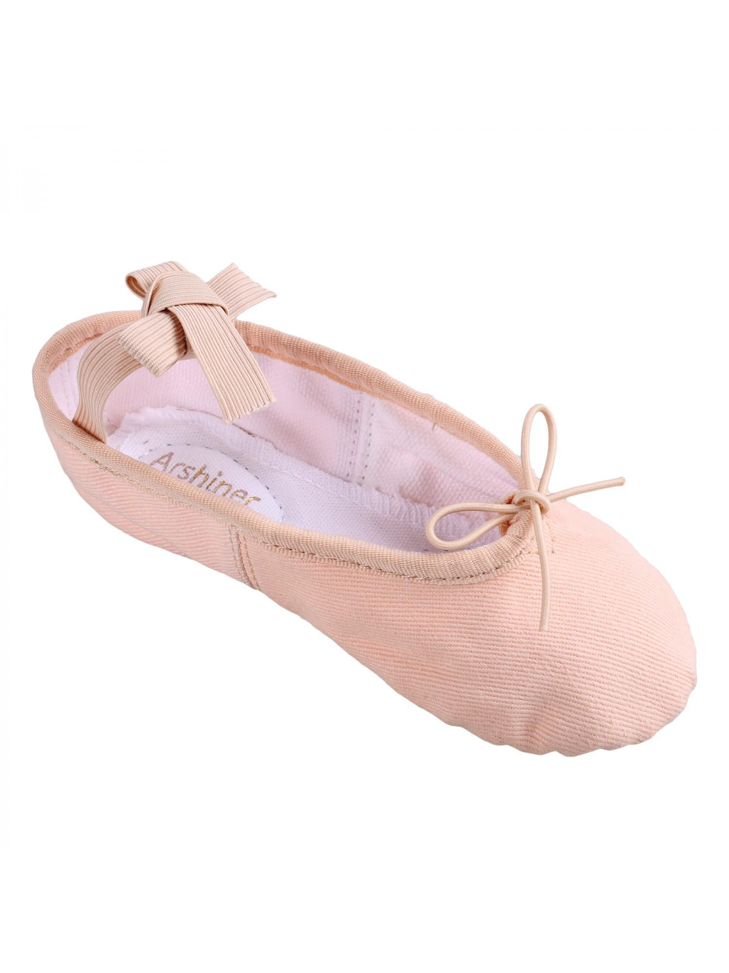 Cleanerlove  Ballet Slipper Shoes Pointe Split Sole Practice Ballet Dancing Gymnastics Shoes Ballet Flat Slipper Yoga Shoes CEAER
