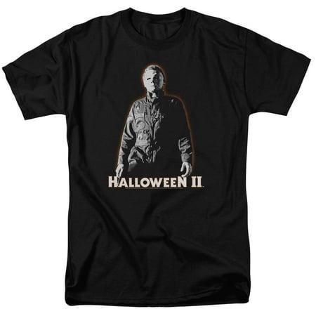 Halloween Ii/Michael Myers S/S Adult 18/1   Black     Uni392 - Halloween Music Michael Myers Theme