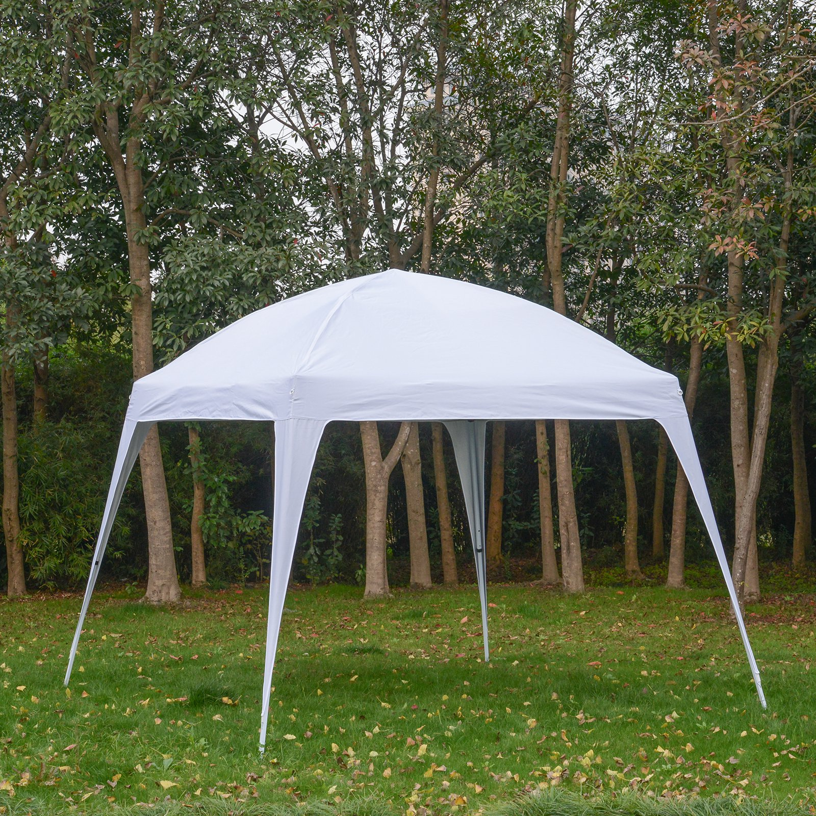 9.75' Large Dome Outdoor Portable Folding Sun Shade Pop Up Tent Canopy Straight-Leg Shelter