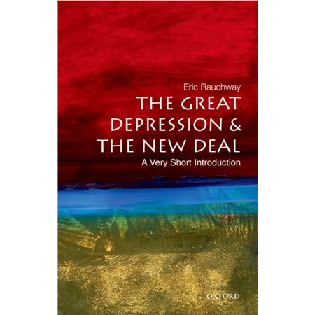 The Great Depression and the New Deal: A Very Short Introduction - (Best Way To Deal With Depression Naturally)