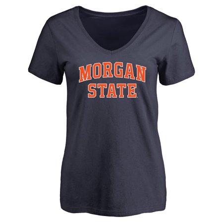 Morgan State Bears Women's Everyday T-Shirt - Navy Adidas Morgan State Bears