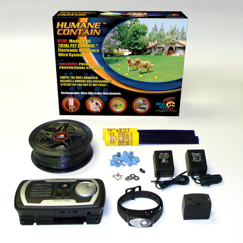 high tech pet multi function dog electric fence