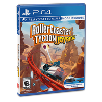 Roller Coaster Tycoon: Joyride, AtGames, PlayStation PS4 & PSVR, 742725911727