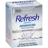 Refresh Optive Advanced Lubricant Eye Drops 30-0.01 fl. oz.