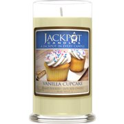 Vanilla Cupcake Candle with Ring Inside (Surprise Jewelry Valued at $15 to $5,000) Ring Size 7