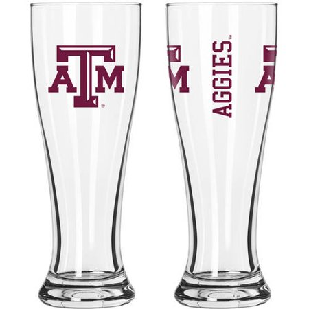 Boelter Brands Texas A and M Aggies NCAA 2-Pack Gameday Pilsner Set (Aggies Ncaa Pack)