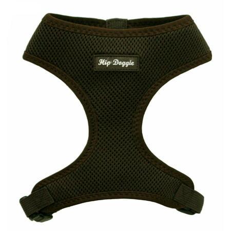 Hip Doggie Ultra Comfort Brown Mesh Harness Vest