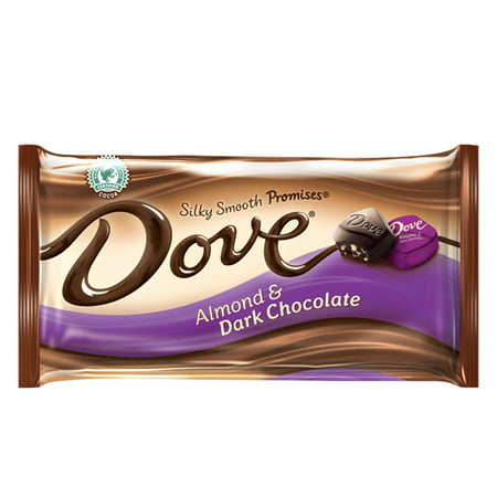Dove Promises, Almond & Dark Chocolate Candy, 7.94 Ounce (Dark Chocolate Dove)